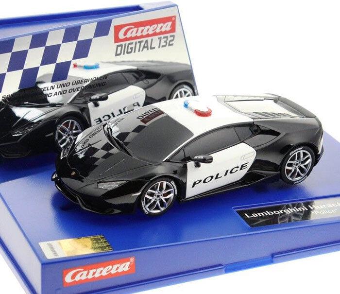 Carrera 30854 Digital Lamborghini Huracán LP 610-4 Police Slot Car