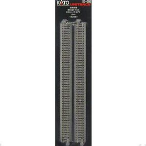 Kato-20-000-Rail-Droit-Straight-Track-248mm-4pcs-N
