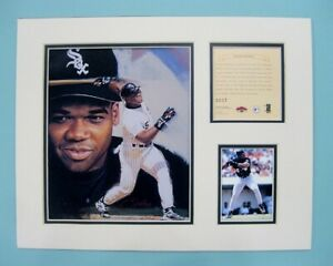 Chicago White Sox Frank Thomas 1997 Baseball 11x14 MATTED Kelly Russell Print