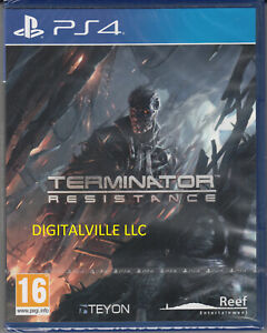Terminator Resistance PS4 Brand New Factory Sealed