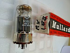 6080 Mullard UK red box  New Old Stock  ValveTube 1pc A17D - <span itemprop='availableAtOrFrom'>Billingshurst, United Kingdom</span> - Items MUST be returned within 30 days of purchase. Buyer pays all cost incurred. Goods must be in the same condition as supplied. Thank you. Most purchases from business sellers are - Billingshurst, United Kingdom