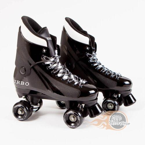 Bauer Style Ventro Pro Turbo Quad Roller Skate Black Ventro Wheels