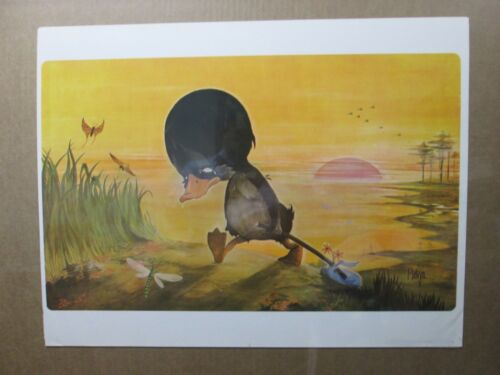 Melvyn Grant Vintage The Ugly duckling animation Poster Inv#G2028
