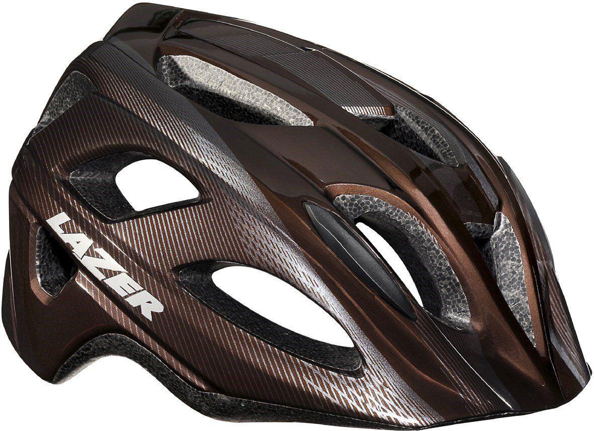 New Lazer Men's Beam Cycling Helmet -  Size Medium 55-59 cm - Brown  happy shopping