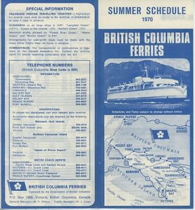 1970-British-Columbia-Ferry-Schedule-Travel-Brochure-Canada-Victoria-Summer