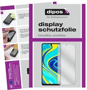 Schutzfolie-fuer-Xiaomi-Redmi-Note-9S-Display-Folie-klar-Displayschutzfolie
