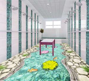 Definite Charming Petal 3D Floor Mural Photo Flooring Wallpaper Home Print Decor