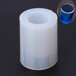 Silicone-Mold-Brush-Pot-Epoxy-Resin-Mould-Pen-Holder-Office-Making-DIY-Crafts