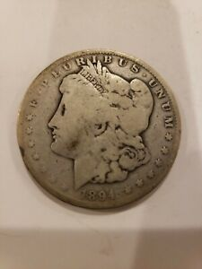 1894 O Morgan Silver Dollar View All Pics Before Bidding Please Jp Ebay