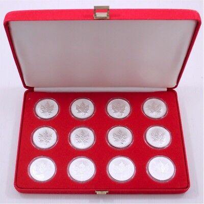 No Tax 2004 Maple Leaf Scorpio Privy 1 oz Pure Canadian Silver Privy Mark