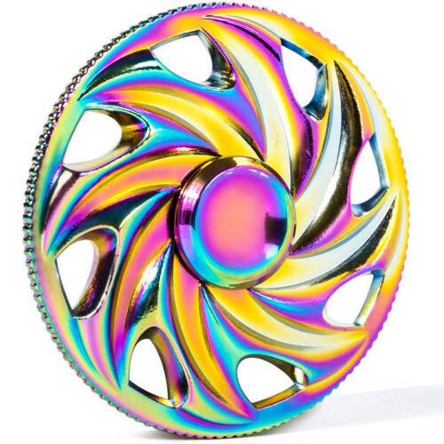Violet Manda Bangers doigt Spinner main Focus SPIN ACIER EDC portant Stress Jouets