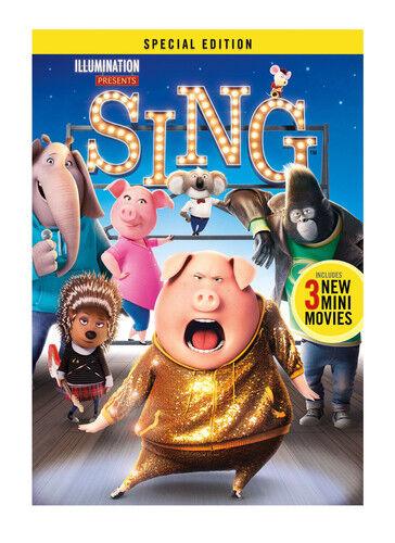 Sing Dvd 2017 For Sale Online Ebay