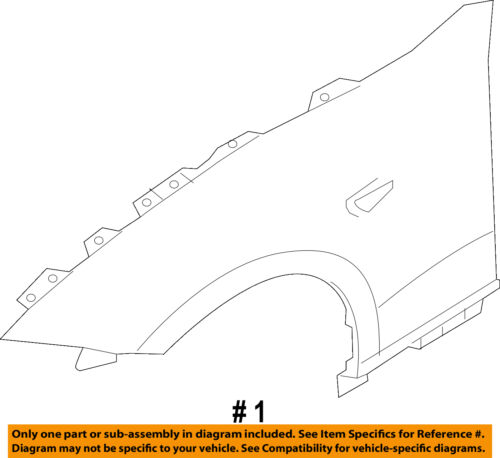MAZDA OEM 16-18 MX-5 Miata-Fender Left N24352211A