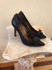 2085b7deb9c967 item 6 Sam Edelman Padma Heels Pointed Toe Black Leather Charcoal Wool  Pumps Womens 8 M -Sam Edelman Padma Heels Pointed Toe Black Leather  Charcoal Wool ...