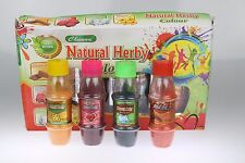 Herbal Holi Powder Colour Festival Throwing Powder Bottle BOX GIFT SET4pc