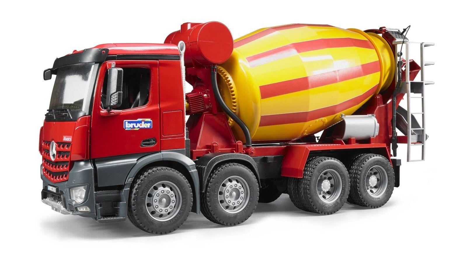BRUDER 3654 MB Arocs camion betoniera