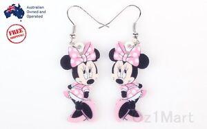 Newest-Acrylic-Minnie-Pink-Drop-Dangle-Hook-Earring-Women-Girls-Hot-Gift
