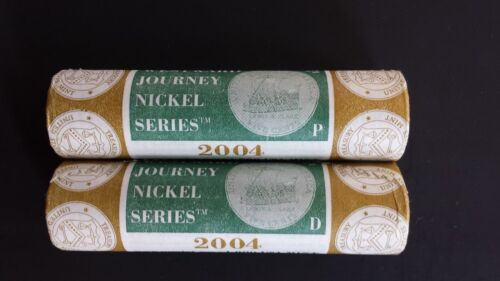 2003 2004 2005 2006-12 WESTWARD JOURNEY US MINT WRAPPED NICKEL ROLLS