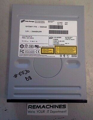 Free Ship! Cd, Dvd & Blu-ray Drives Objective Hitachi Lg H L Data Storage Cd-r/rw Drive Model Gce-8481b Ide Tested