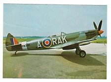Supermarine Spitfire LF XVIe RW386 WWII Fighter aircraft Postcard