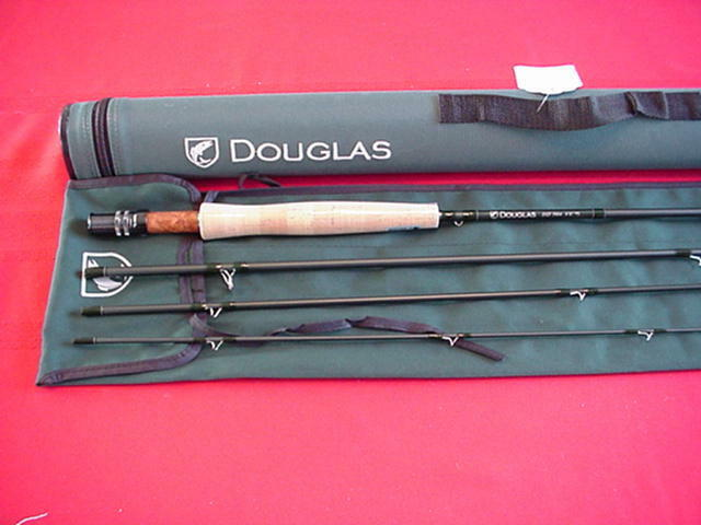 Douglas Outdoors 10ft 10ft 10ft Graphite DXF Fly Rod 4 Piece  5 Line GREAT NEW 8156e8