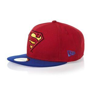 New-Era-59FIFTY-Dc-Comics-Man-Of-Steel-Superman-Reverse-2-Red-Cappello-Berretto
