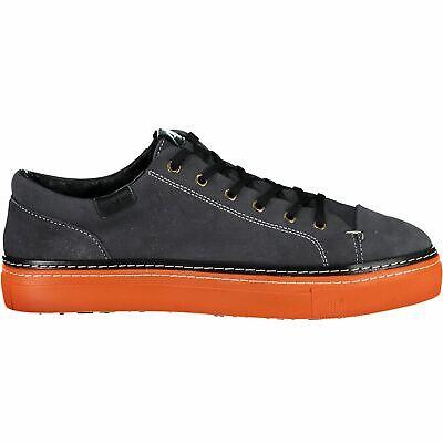 Delizioso Cmp Sneaker Libertas Lifestyle Shoe Grigio Tinta Camoscio Suola Respirabile-