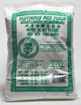 Glutinous Rice Flour 1lb Free Shipping! Erawan GLUTEN FREE ...