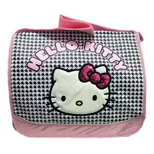 4d06958f9f10 Image is loading Messenger-Diaper-School-Shoulder-Bag-Sanrio-Hello-Kitty-