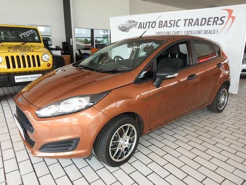 2017 Ford Fiesta 1.4 Ambiente Ac+audio+bt