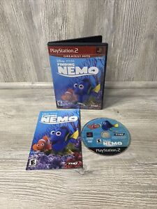 NICE DISC! Finding Nemo Disney Pixar (PlayStation 2 PS2) Greatest Hits Complete