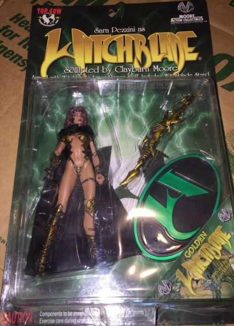 Sara Pezzini Golden Witchblade Action Figure Top Cow Moore Action Collectibles