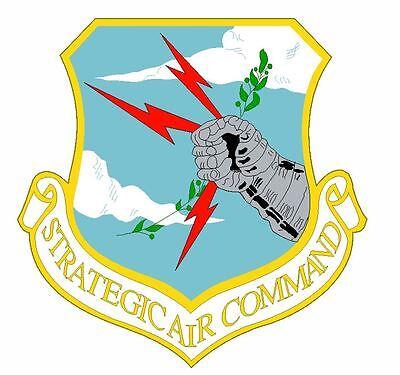 US Air Force SAC Strategic Air Command Sticker M675 YOU CHOOSE SIZE
