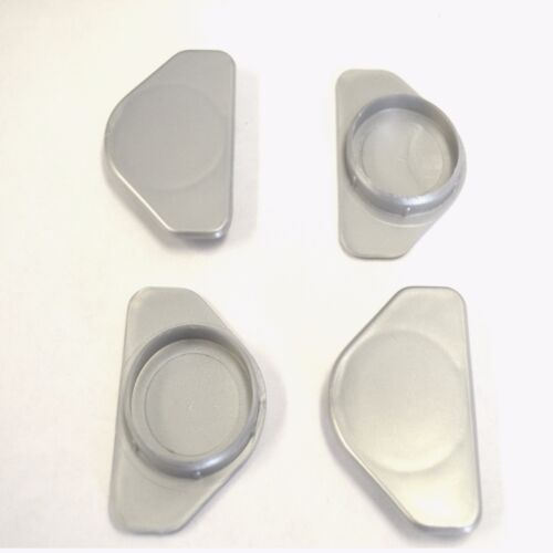50 x 35MM HOLE COVER CAP SILVER BLANKING HOLE BUNG KITCHEN BEDROOM CABINET DOOR
