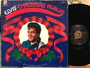Elvis Presley Christmas Album LP Pickwick Camden CAS-2428 Blue Christmas Mono 70
