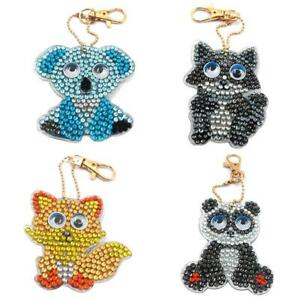 4pcs-set-DIY-Full-Drill-Diamond-Painting-Cartoon-Animal-Key-Chain-Jewelry-R1BO