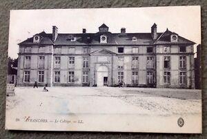 CPA-AVRANCHES-50-Le-College