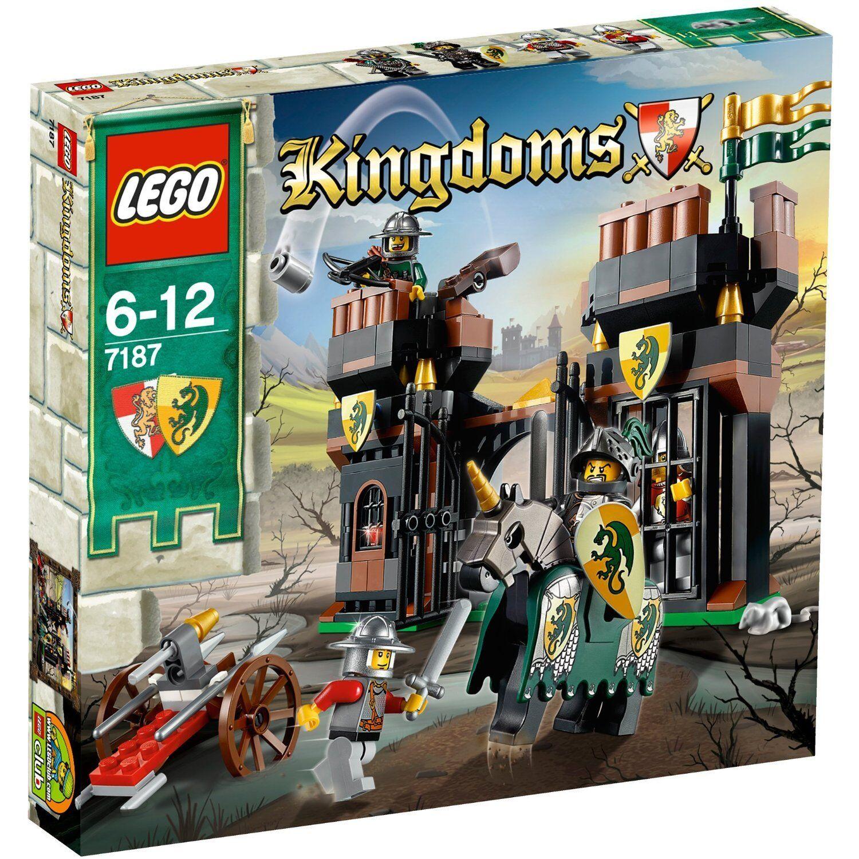 LEGO® Kingdoms 7187 Flucht aus dem Drachengefängnis neu & ovp