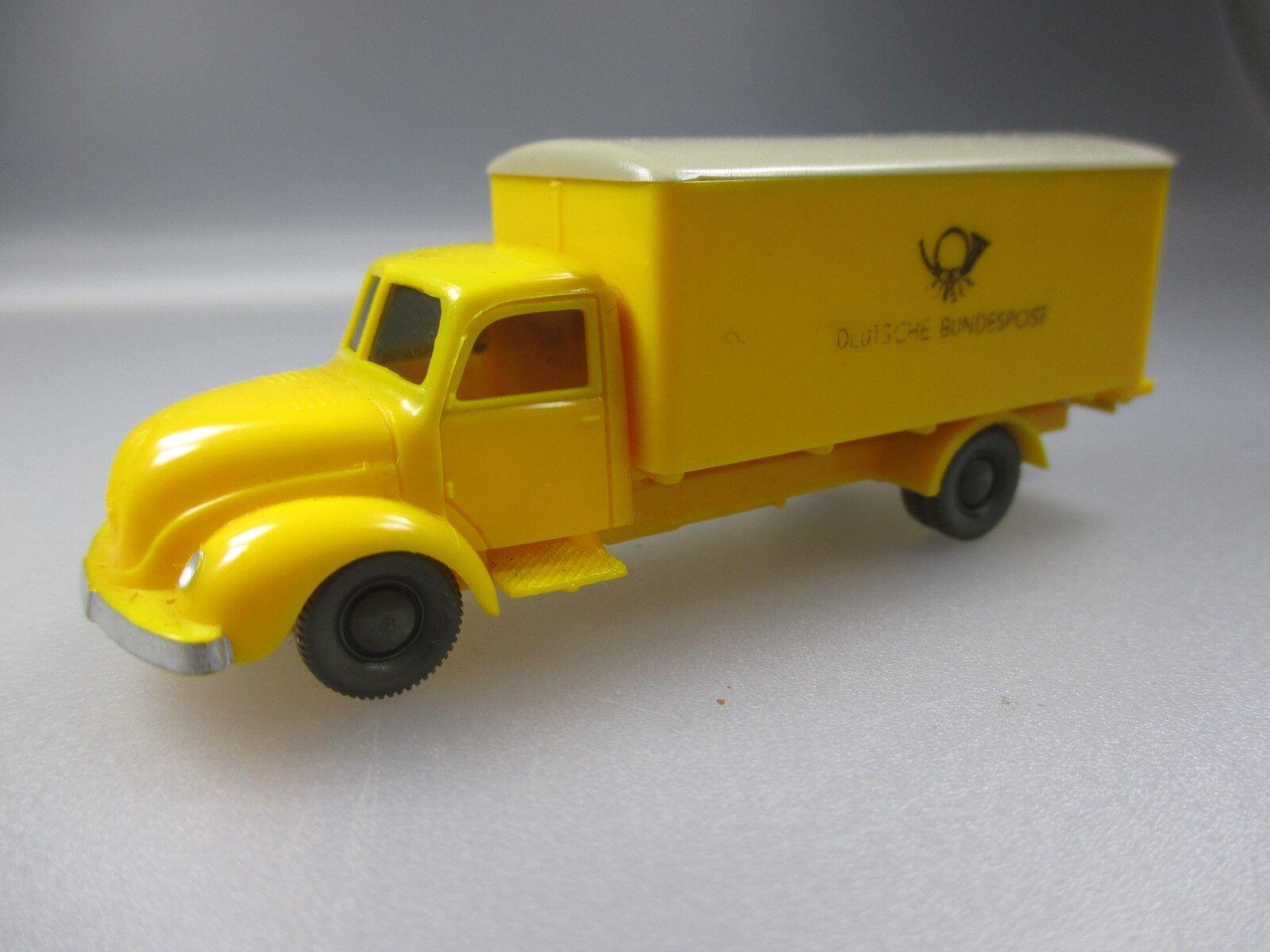 Wiking  post-carro Magirus Deutsche Bundespost (ssk51)