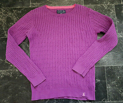 Joules Hayle Cable Knit Jumper Sweatshirt Girl 11 12 Years 152cm | eBay