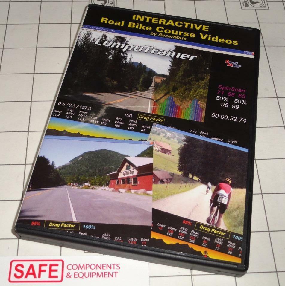 Racer Mate IRONMAN  COEUR D'ADELEN Interactive Bike Video PC Computrainer MM-472  cheapest