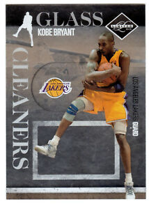 2010-11-Panini-Limitado-20-Kobe-Bryant-Vidrio-Limpiadores-143-149