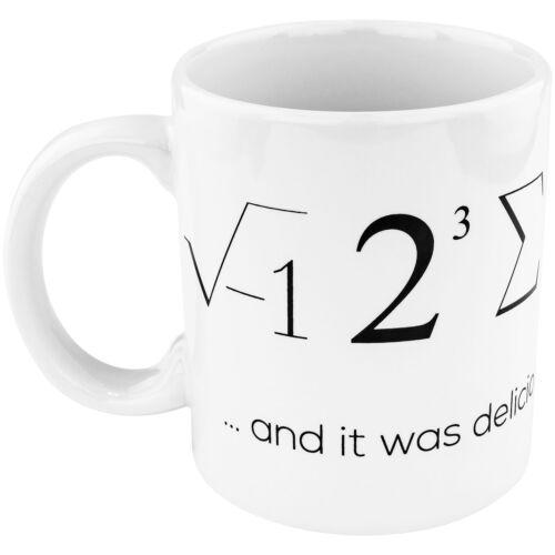 I ATE SOME PIE MUG Funny Cool Nerd Geek Engineer or Math Teacher Gift Cup