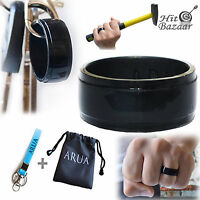 Silicone Finger Wedding Ring Safety Men Band Elegant Glam Thin Durable Safe