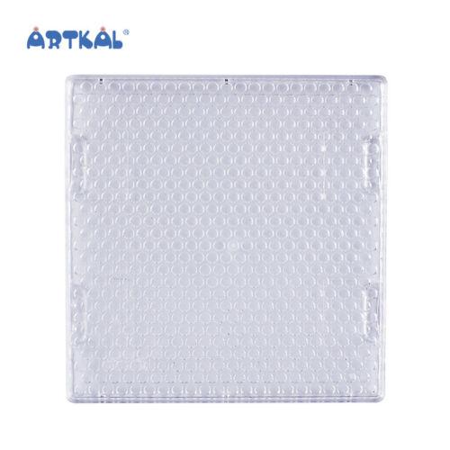 Artkal Steckplatte für 5mm Waterbeads Quadrat  12 x 11,7 cm Aqua Beads Bügelbilder