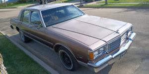 1984 Chevrolet Caprice Yes