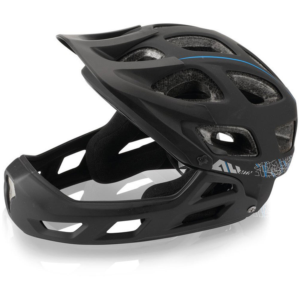 XLC All MTN Full Face Fahrradhelm BH-F05 Gr.L XL 54-60cm black Fahrrad