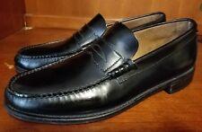 Florsheim Men Black Penny Loafers Size 10 D **NICE
