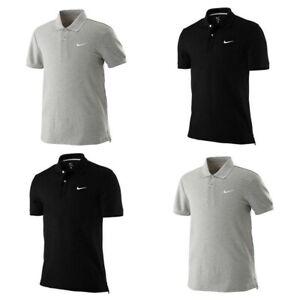 Nike-Mens-Polo-Shirt-Classic-SS-Pique-Cotton-Tee-T-Shirt-For-Men-Size