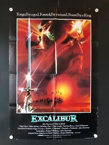 Excalibur    1980/'s Movie Posters Classic Cinema